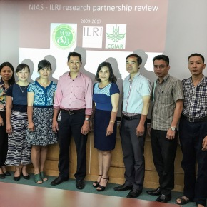 Vietnam Institute of Animal Science and ILRI to enhance collaboration in livestock research