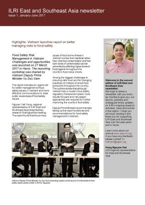 Issue 2 of ILRI East and Southeast Asia Newsletter is now available