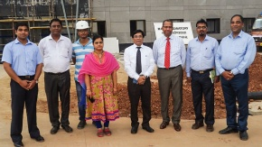 Exploring collaboration opportunities in visit to India foot-and-mouth disease research facility