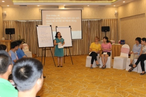 Improving capacity development on role of gender in pig research inVietnam