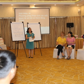 Improving capacity development on role of gender in pig research in Vietnam