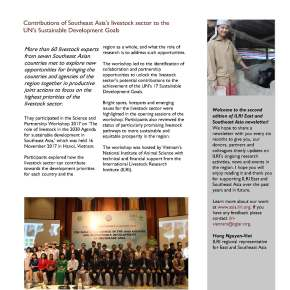Issue 3 of ILRI East and Southeast Asia Newsletter is now available