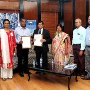The Indian Institute of Chemical Technology and ILRI to work together in livestock feed development