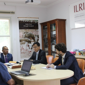 ILRI and Myanmar officials discuss collaboration opportunities in livestockdevelopment
