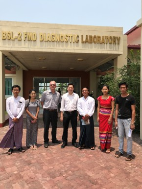 Myanmar and ILRI meetings seek to cement cooperation in livestock development