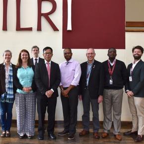 Senior Myanmar livestock official visits ILRI's Nairobi headquarter to discuss possible researchpartnerships
