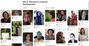 Take a look at the WILD women and girls conducting livestock science fordevelopment
