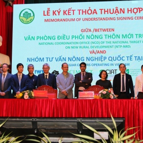 CGIAR to support Vietnam's national program for rural development under new agreement